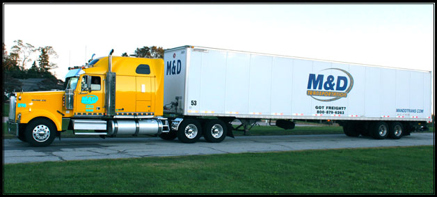 M&D Trans Trucking Fleet